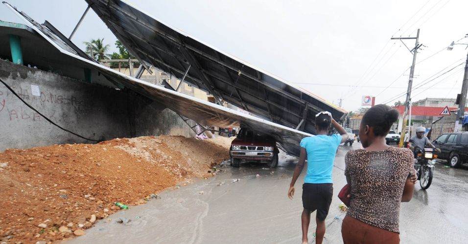 Chuvas no Haiti