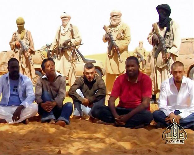 Reféns da Al Qaeda
