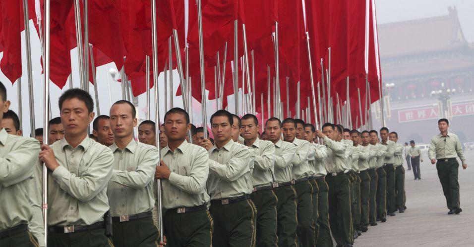 Comemoração na China