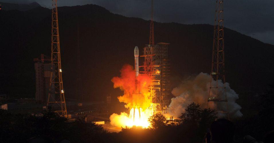 China lança satélite
