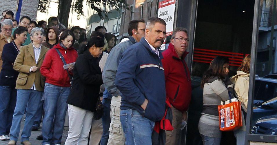 Desemprego na Espanha