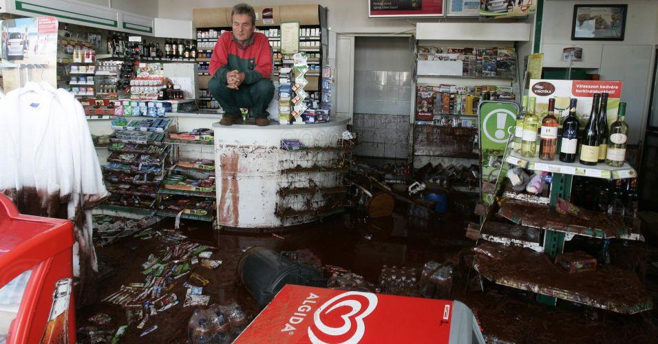 Inundação na Hungria