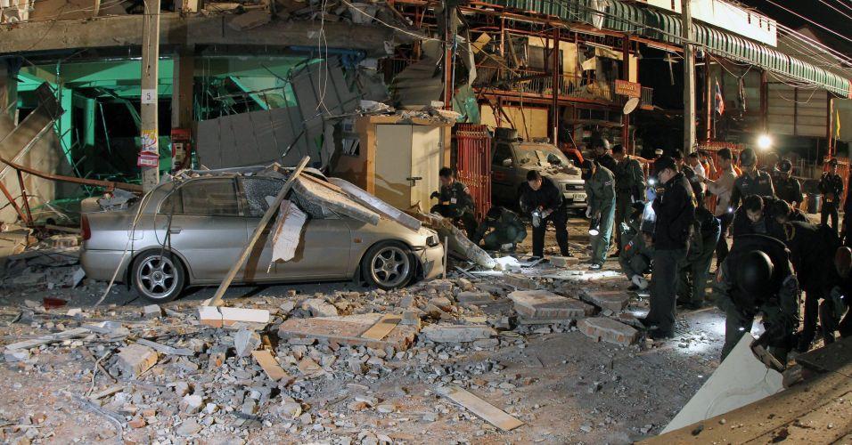 Explosão na Tailândia