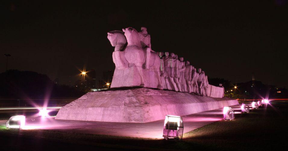 Iluminação especial no Ibirapuera