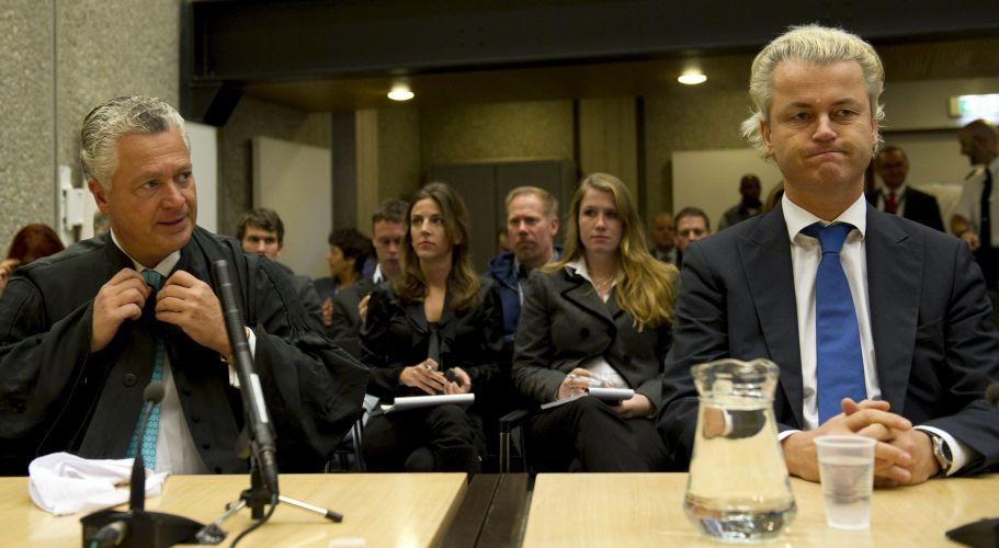 Julgamento de líder da extrema direita na Holanda