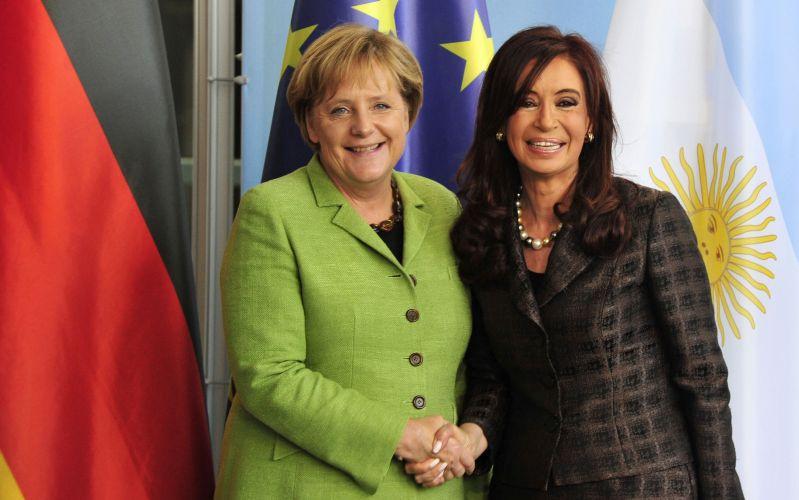 Merkel e Kirchner