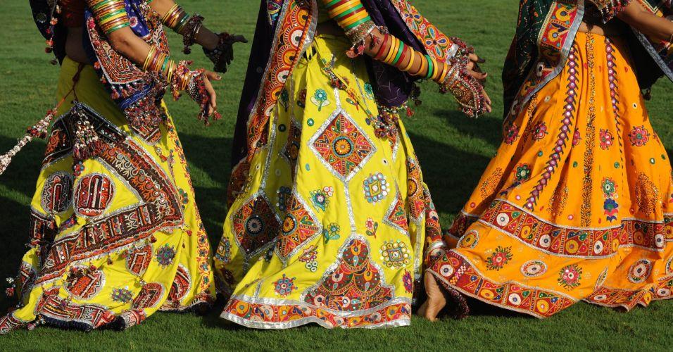 Dançarinas indianas