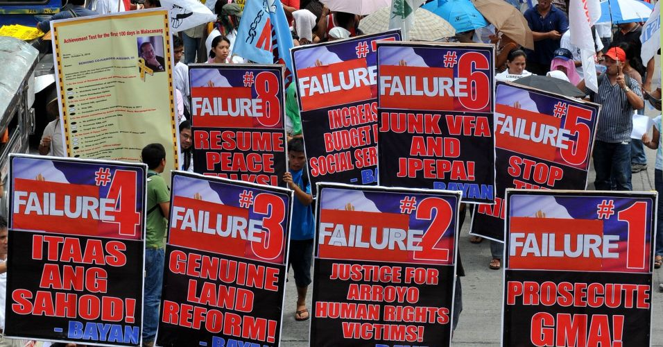 Protesto nas Filipinas