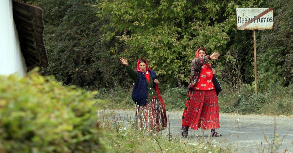 Ciganas na Romênia