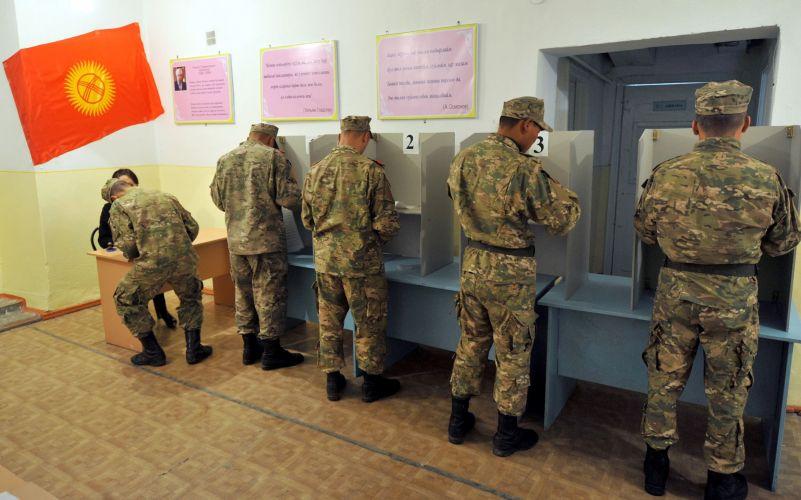 Eleições no Quirguistão