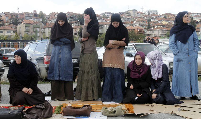 Muçulmanas no Kosovo
