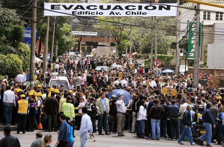 Simulação na Colômbia