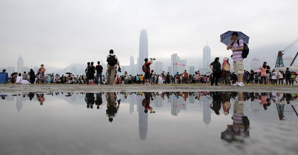 Competição em Hong Kong