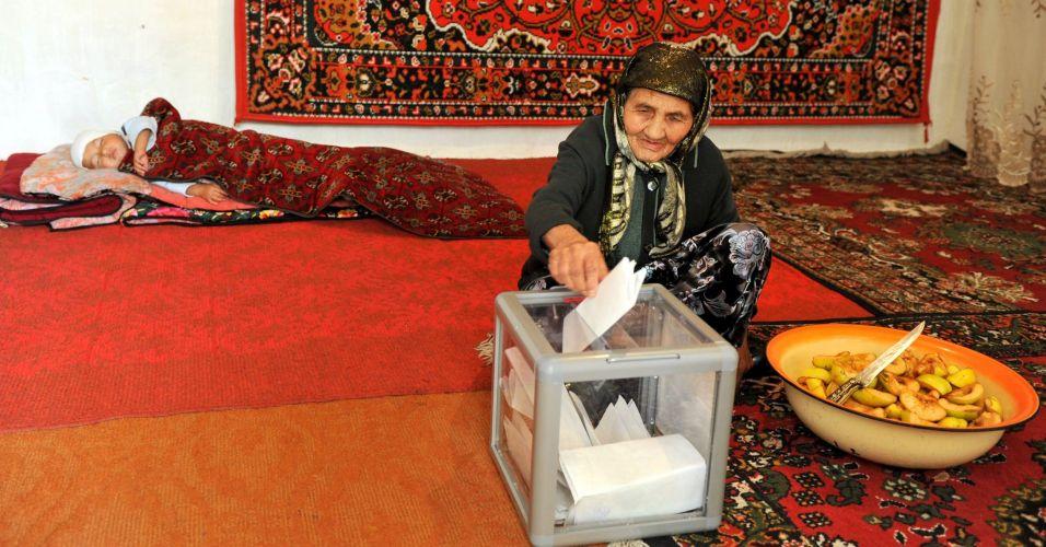 Eleição no Quirguistão
