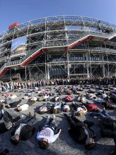Manifestação contra pena de morte na França