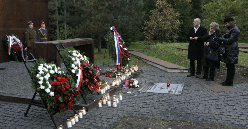 Homenagem na Rússia