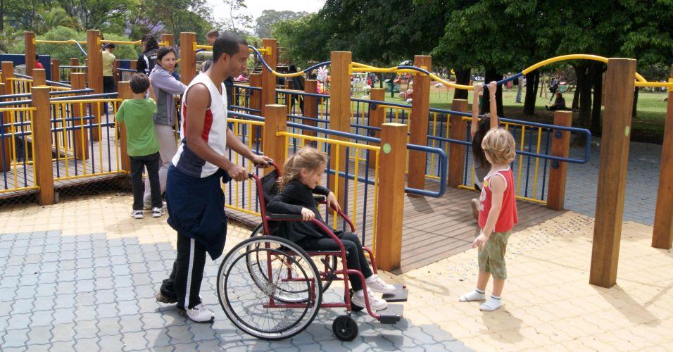 Playground inclusivo em SP