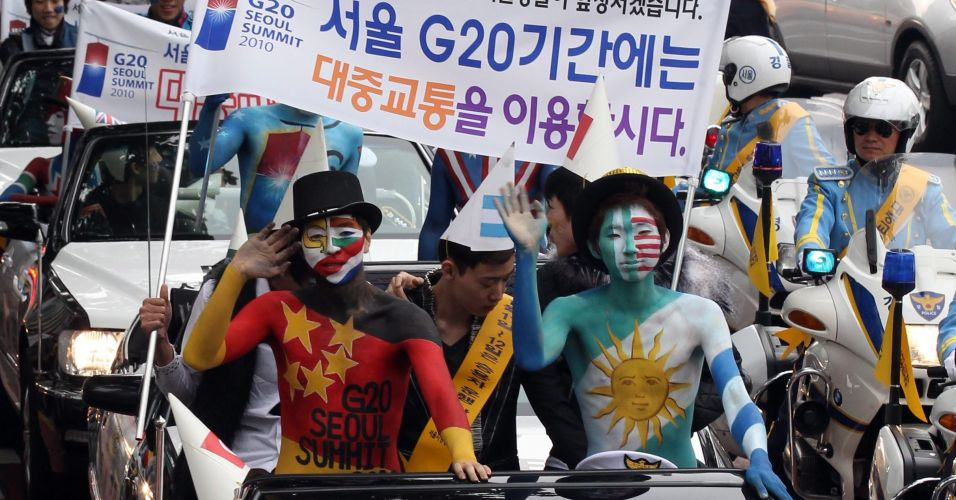 Campanha na Coreia do Sul
