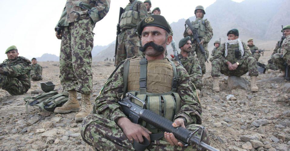 Soldados da Otan no Afeganistão