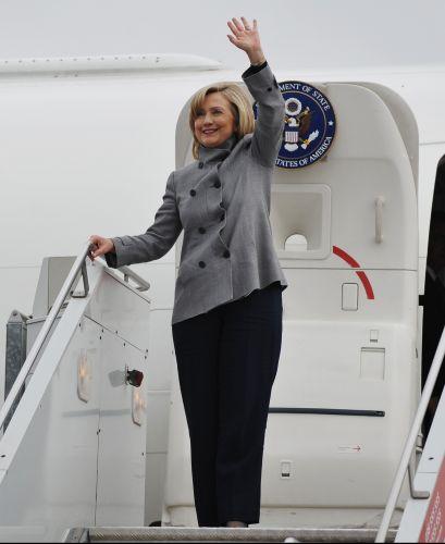Hillary em Kosovo