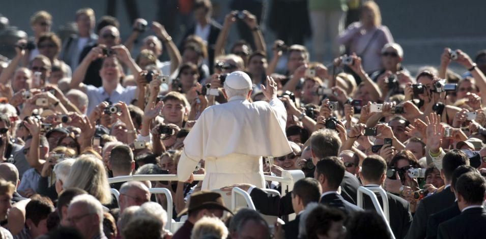 Papa no Vaticano