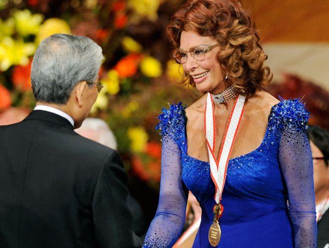 Sophia Loren no Japão
