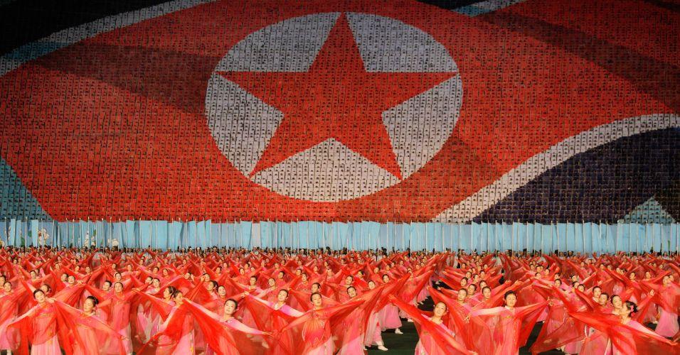 Comemoração na Coreia do Norte