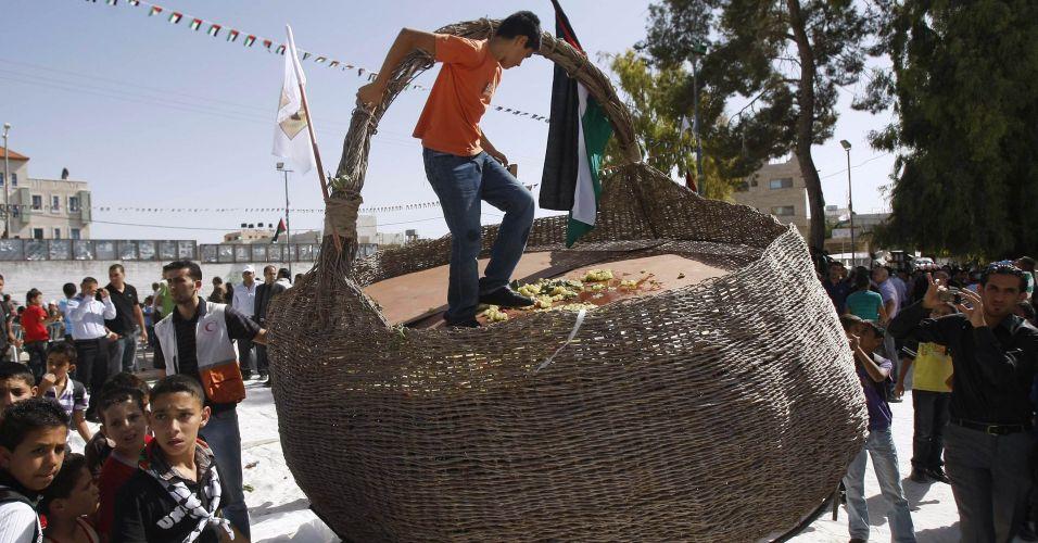 Protesto palestino