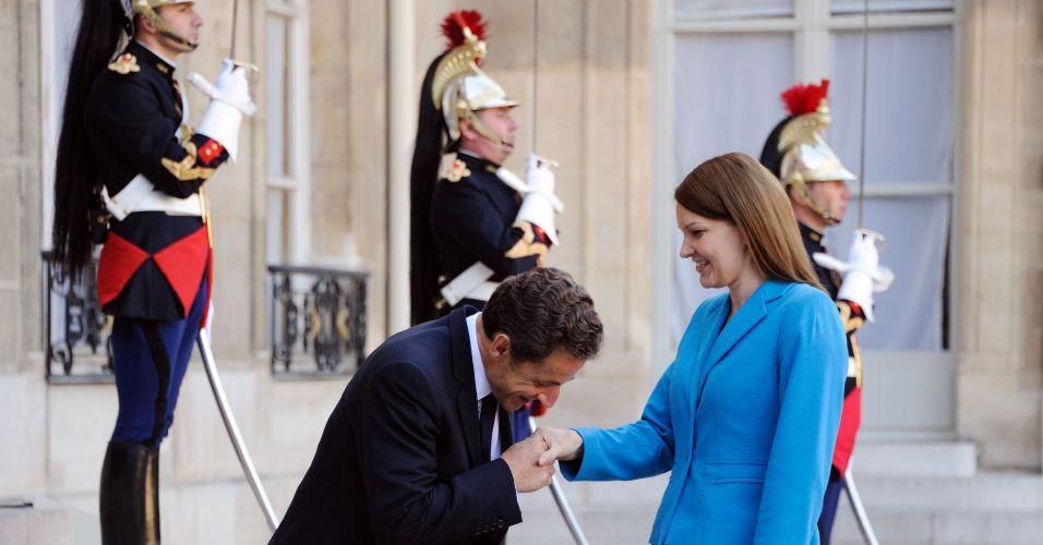 Sarkozy e Kiviniemi