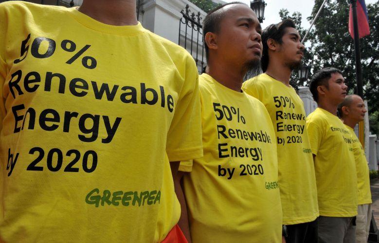 Manifestação do Greenpeace