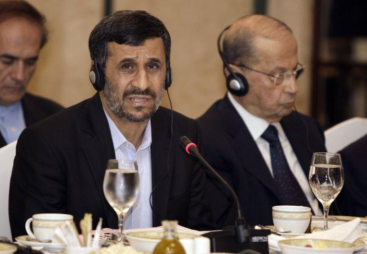 Mahmoud Ahmadinejad visita o Líbano