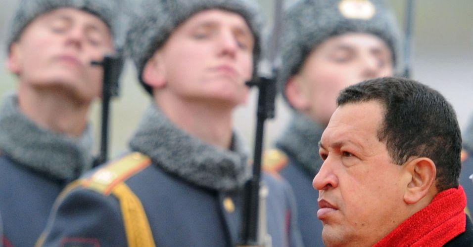 Chávez na Rússia