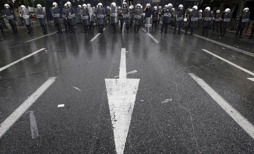 Polícia na Grécia