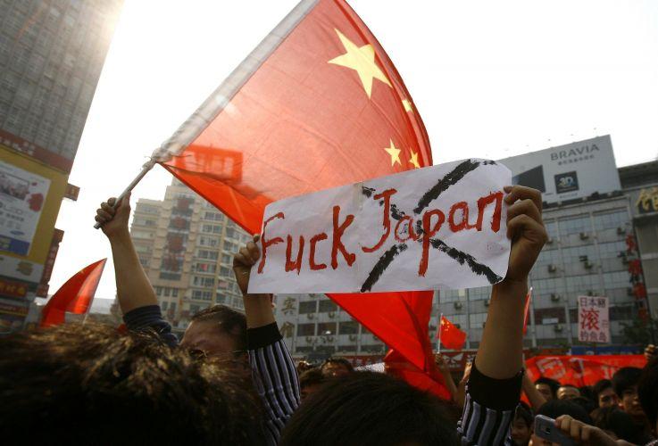Chineses contra o Japão