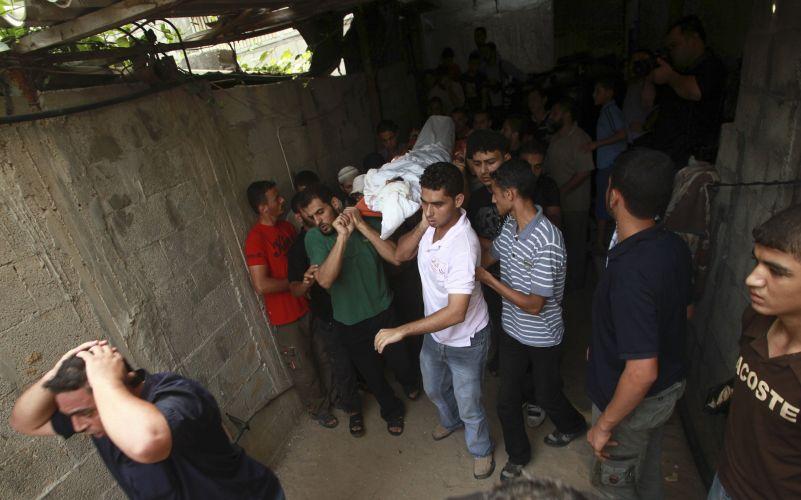 Funeral em Gaza