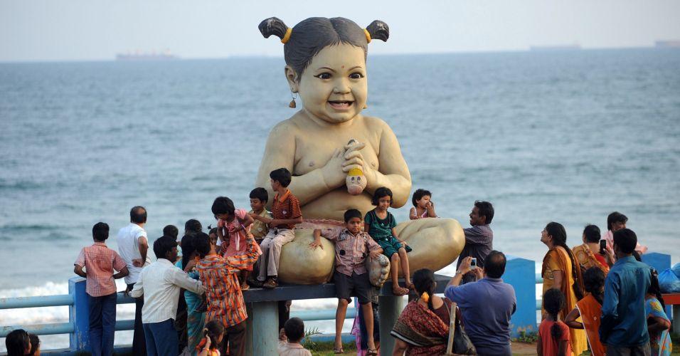 Escultura na Índia