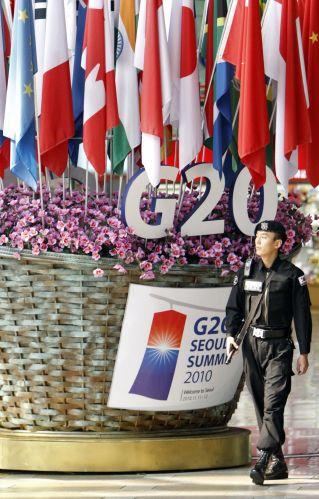 Reunião do G20 na Coreia do Sul