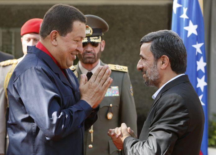 Chávez em Teerã