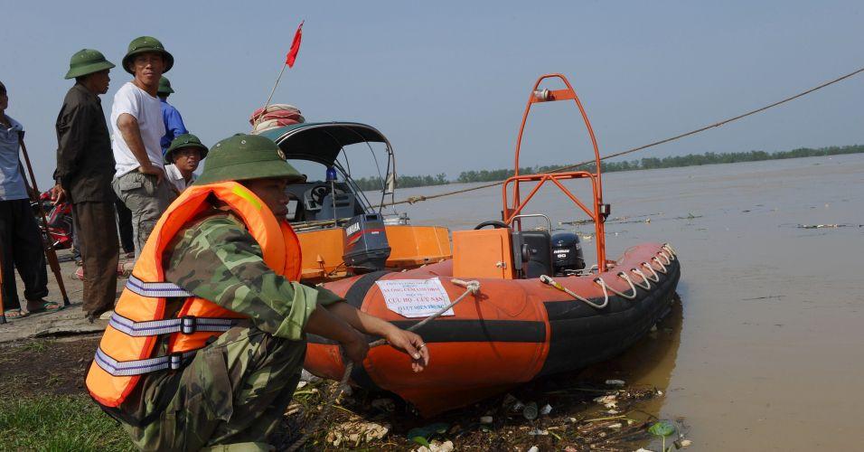 Busca por desaparecidos no Vietnã