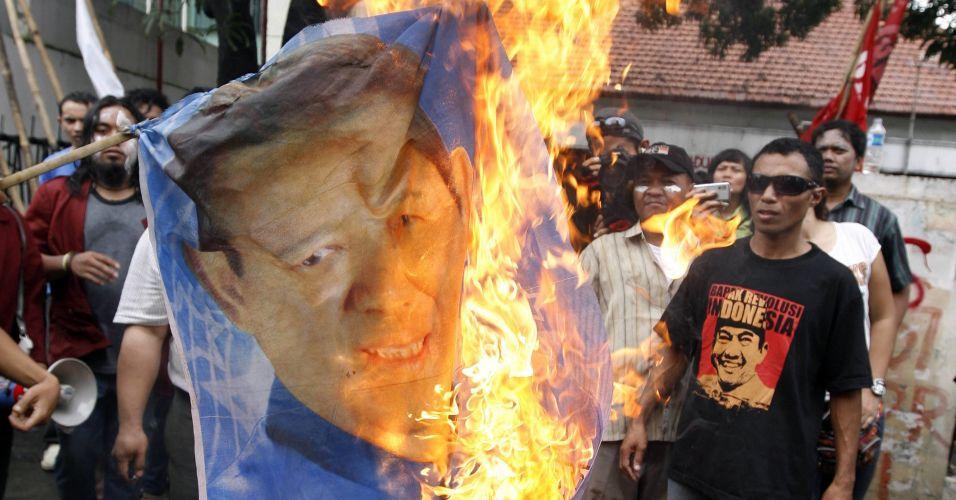 Protesto na Indonésia