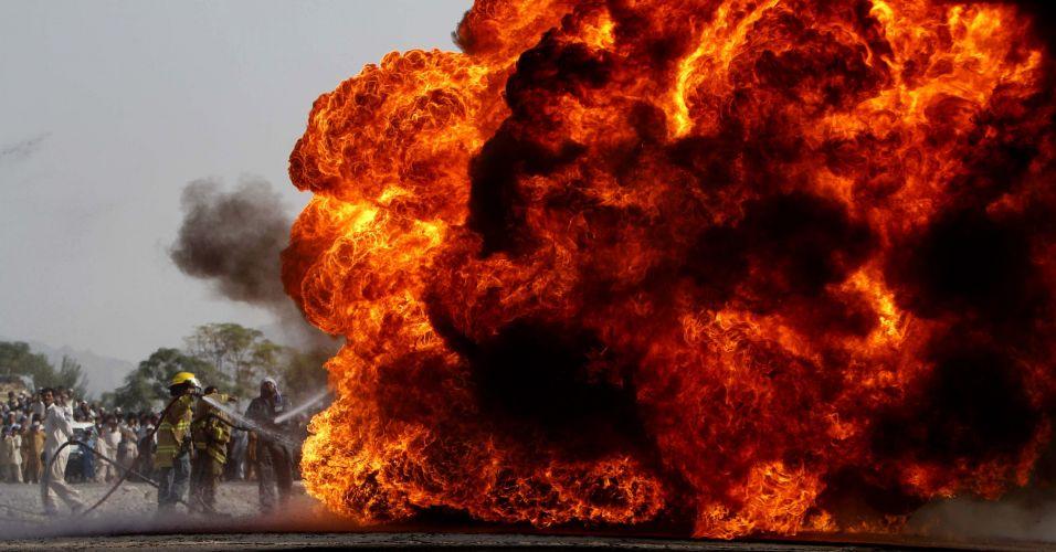 Explosão no Afeganistão