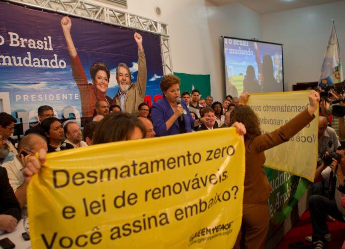 Protesto contra Dilma
