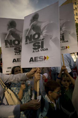 Protesto antiaborto