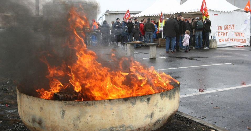 Protestos na França