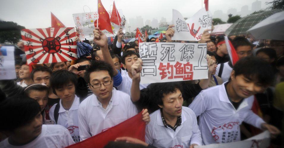 Protesto no Japão