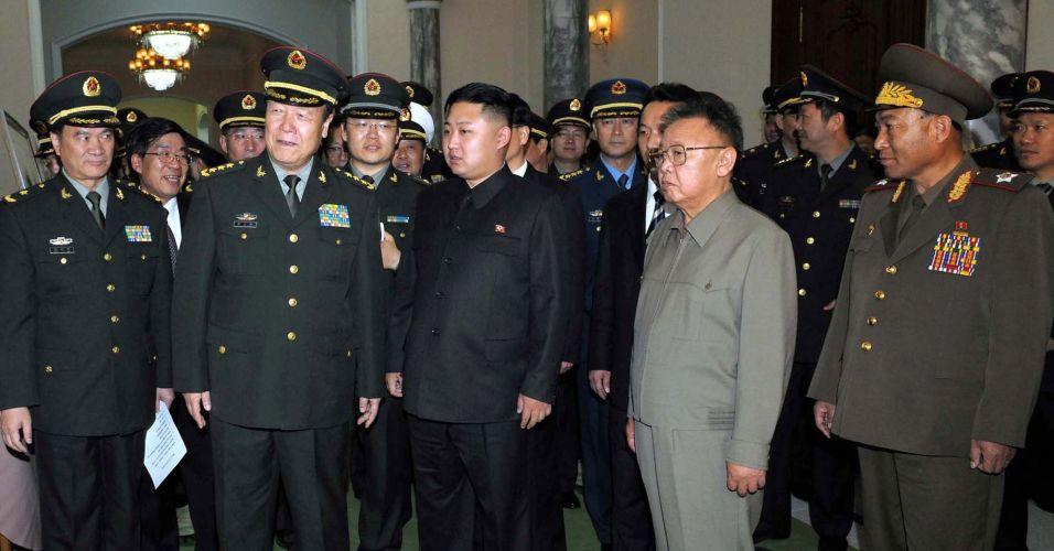 Líder coreano participa de reunião
