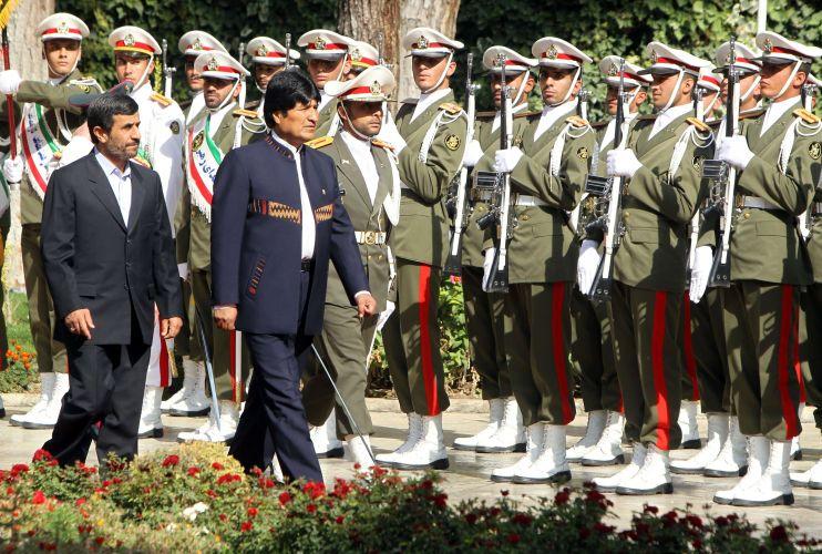 Morales em Teerã