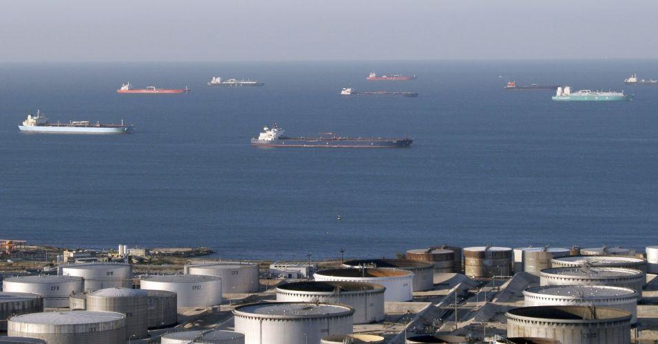 Petroleiros na França