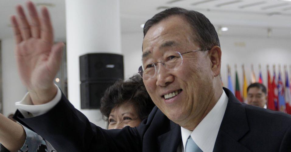 Ban Ki-moon em Bancoc