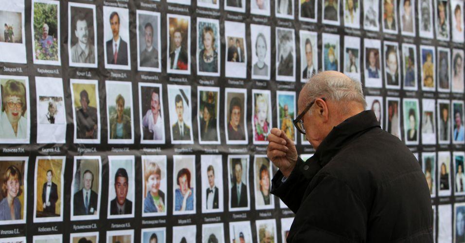 Aniversário de atentado na Rússia